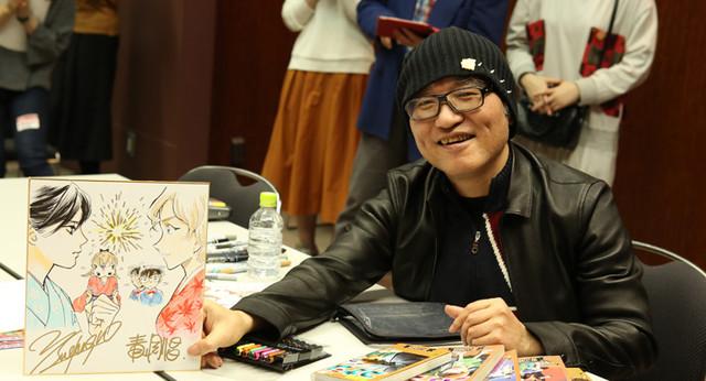 Detective Conan and Chihayafuru mangaka team up for special collaborative illustration