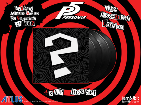Persona 5 soundtrack also gets a vinyl release
