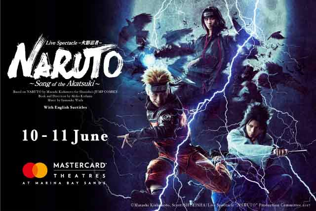 Live Spectacle NARUTO – Song of the Akatsuki Cast Talks About Singapore and Touring in Exclusive Interview