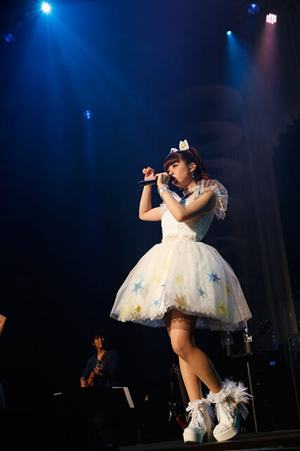 "Luna Haruna Celebrates 5th Anniversary with Concert ""5th Anniversary Fes."" ♡with you♡"