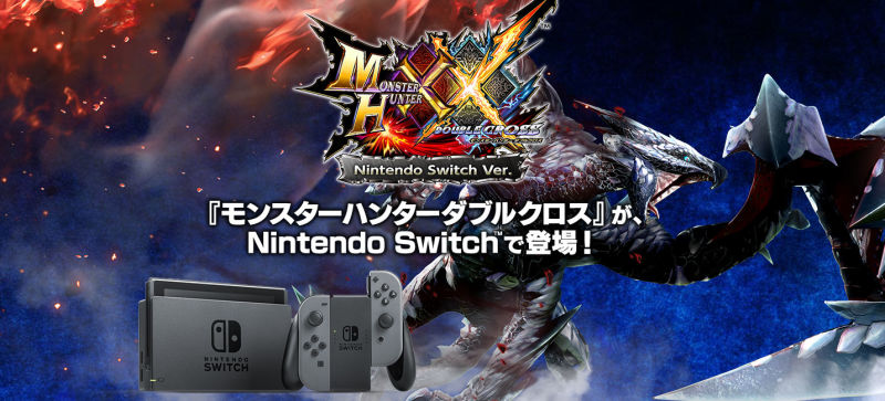 Monster Hunter is heading to the Switch