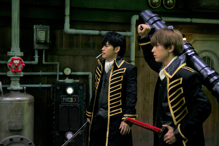 Live-action Gintama film previews Shinsengumi in action