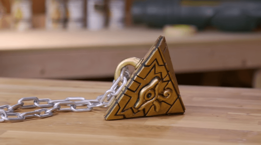 DIY video shows how to make Yu-Gi-Oh!'s Millennium Puzzle at home