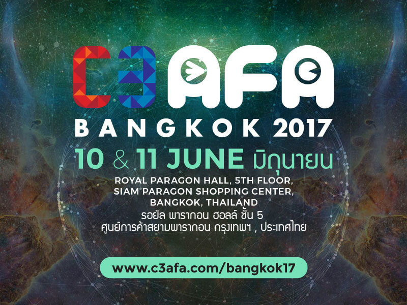 "SOZO, SOTSU, and ASATSU-DK Hold Joint ""C3AFA Bangkok 2017"" Press Conference"
