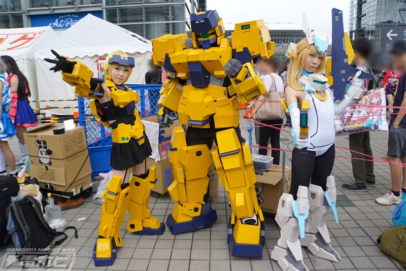Here are some of the awesome cosplays for all 3 days of Comiket 92