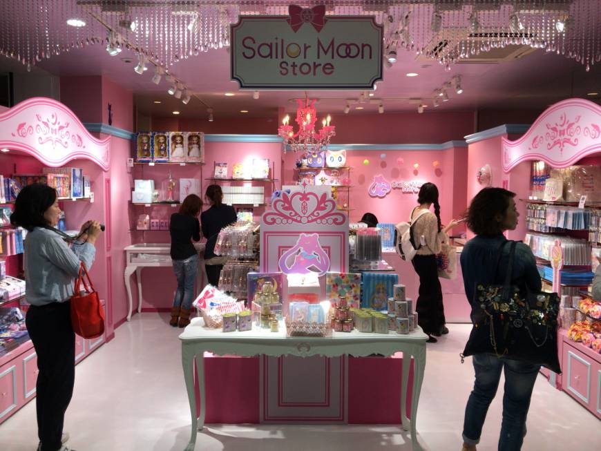 Official and Permanent Sailor Moon Store opens in Harajuku