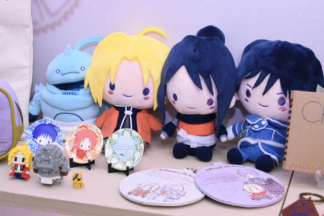 Sanrio reveals their Fullmetal Alchemist collaboration merchandise