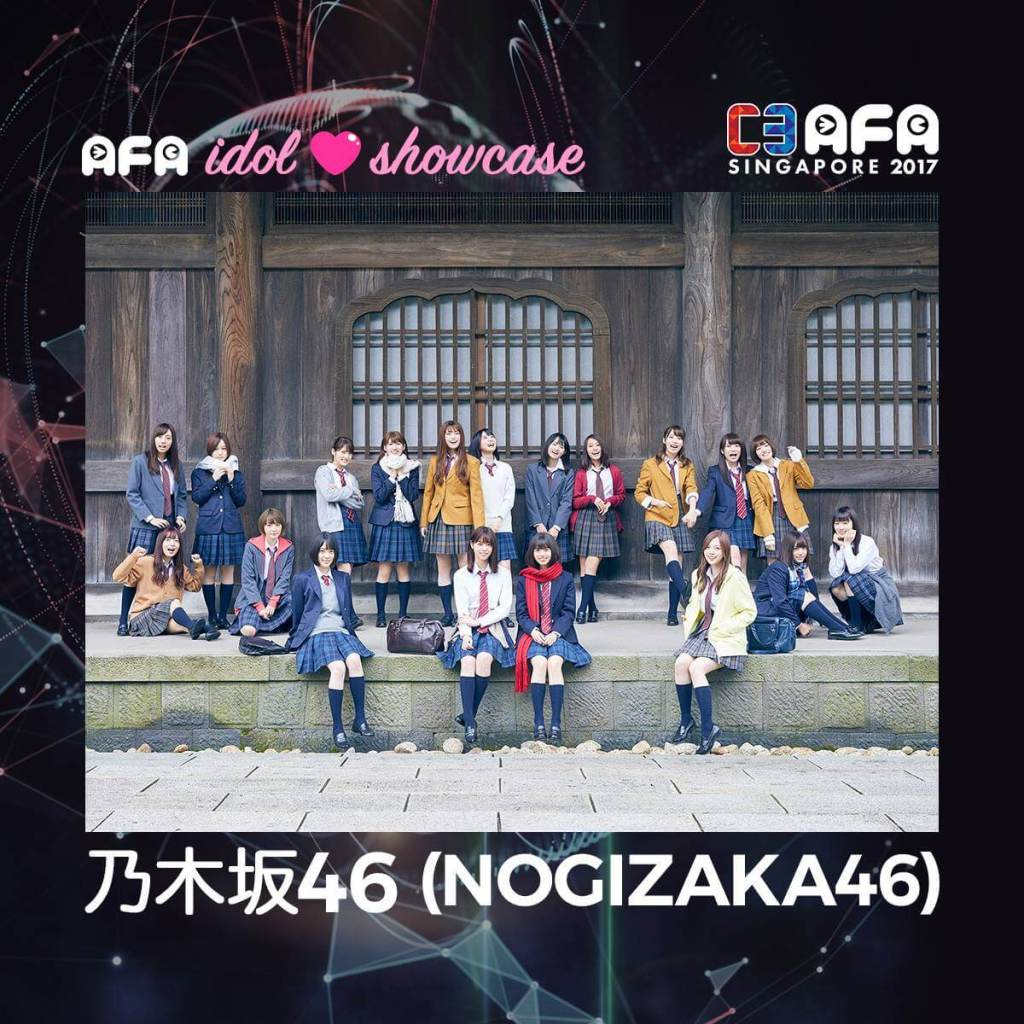 C3 AFA Singapore Announces Idol Showcase Featuring NOGIZAKA46!