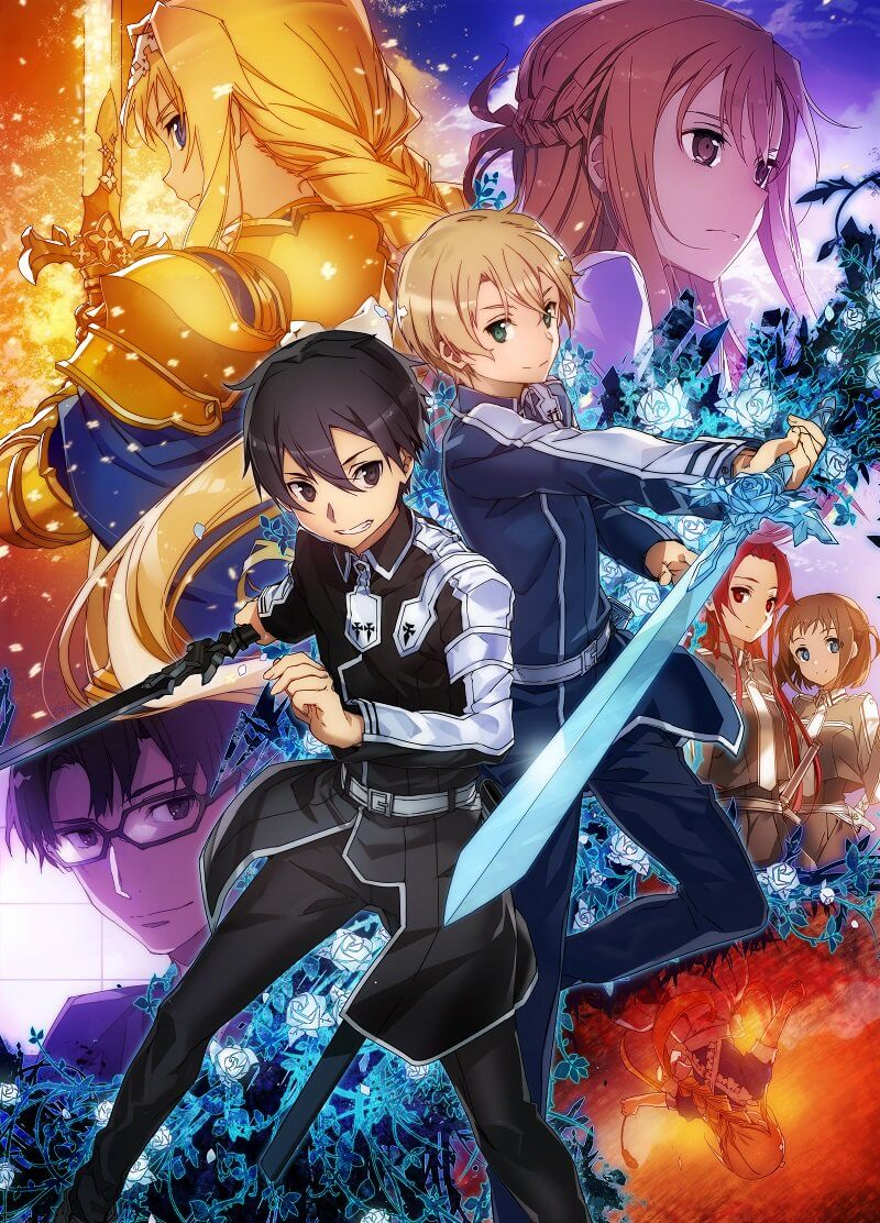 Sword Art Online: Alicization TV anime announced