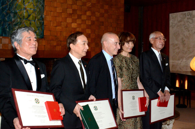 Italian government honors Thermae Romae mangaka with the Star of Italy