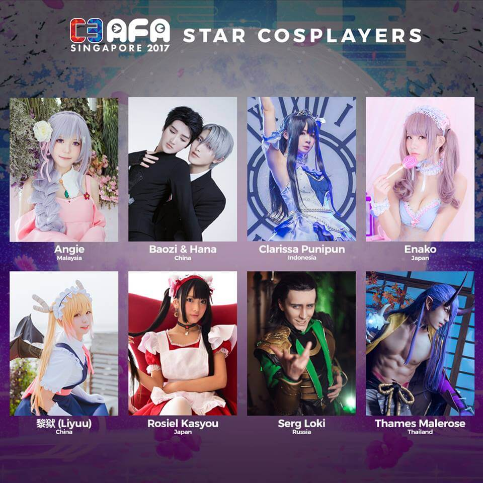 C3 AFA Singapore Guest Profile: Star Cosplayers