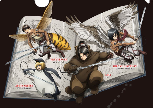 Attack on Titan characters become animals for Science Museum collaboration