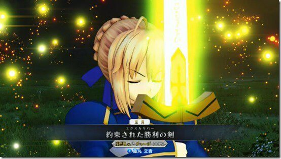 Fate/Grand Order Arcade game reveals new still images