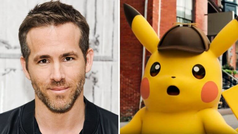 Report says that Ryan Reynolds will voice Pikachu for live-action Pokemon film