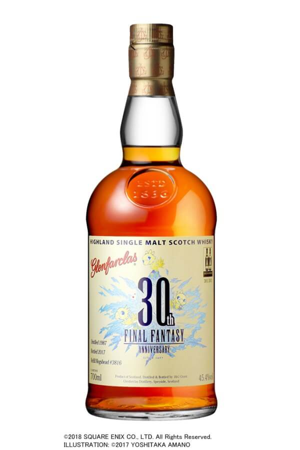 Celebrate Final Fantasy's 30th anniversary with a 30-year old bottle of Scotch Whisky