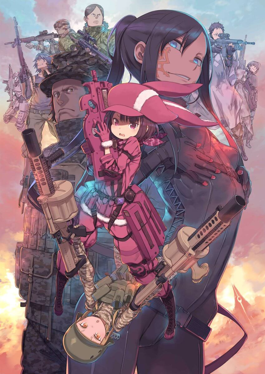 Sword Art Online Alternative: Gun Gale Online shows off new CM