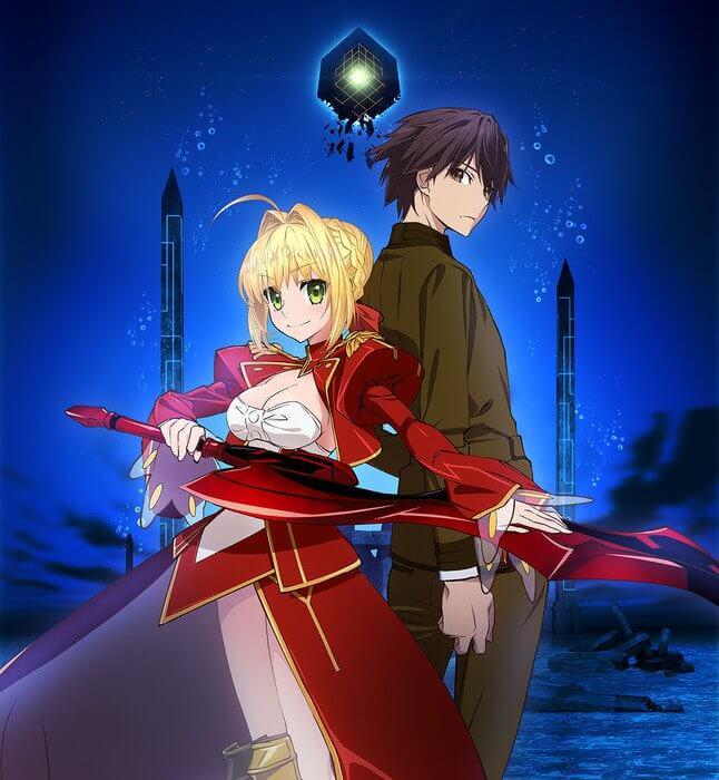 Fate/Extra Last Encore anime gets Illustrias Geocentrism anime special