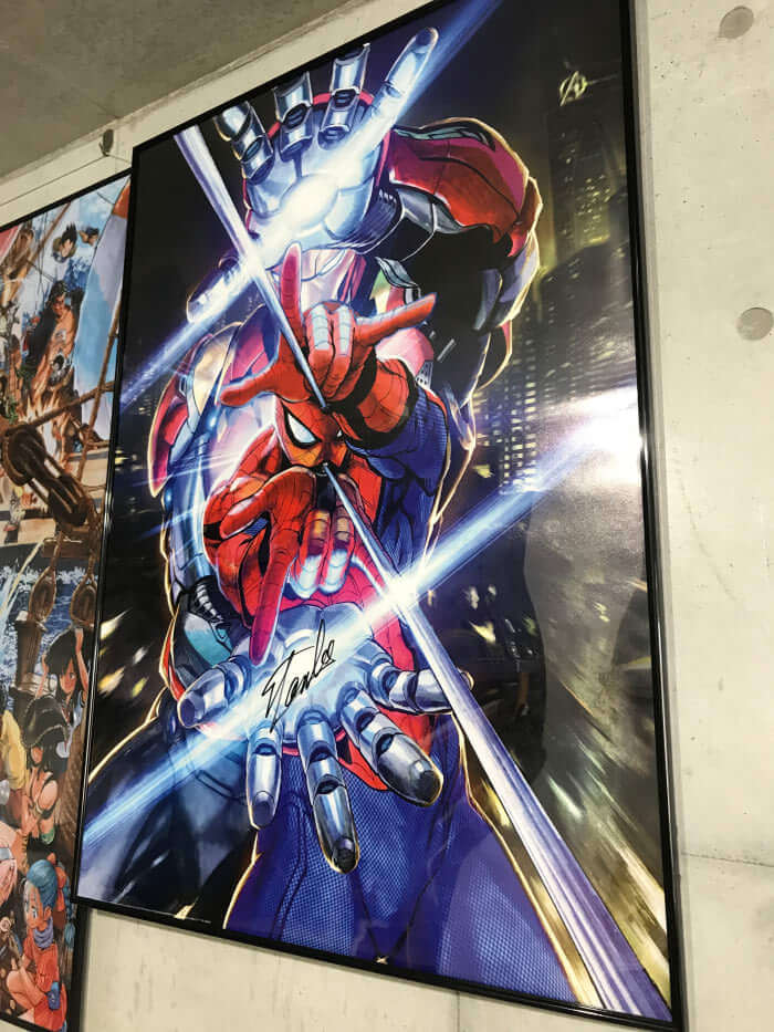 One Punch Man's Yusuke Murata gets Stan Lee's approval for his Spider-Man artwork