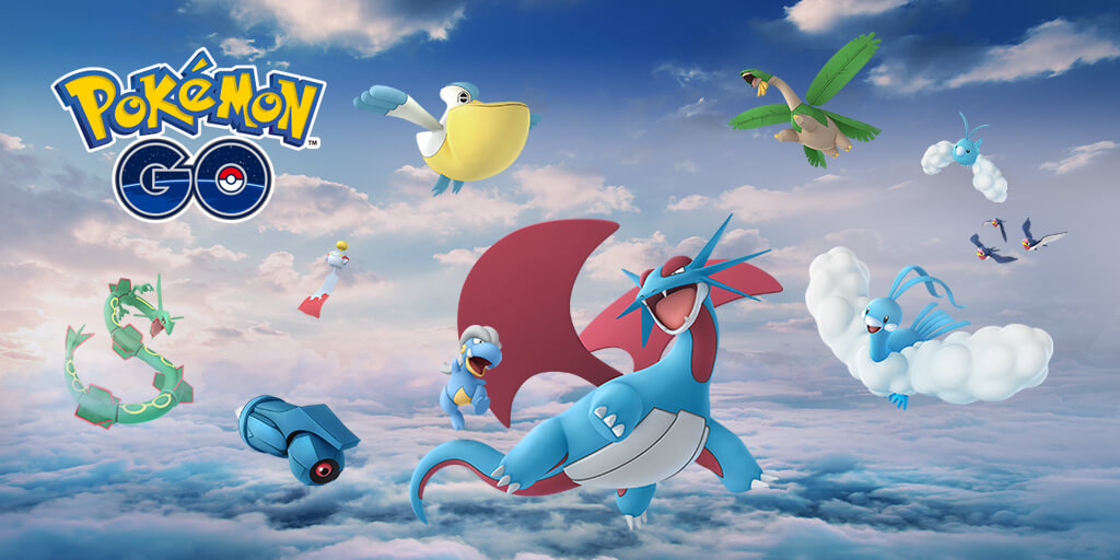 Pokemon GO adds Rayquaza, other Dragon and Flying-type Gen-3 Pokemon
