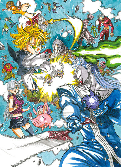 The Seven Deadly Sins The Movie: Prisoners of the Sky reveals new PV and key visual