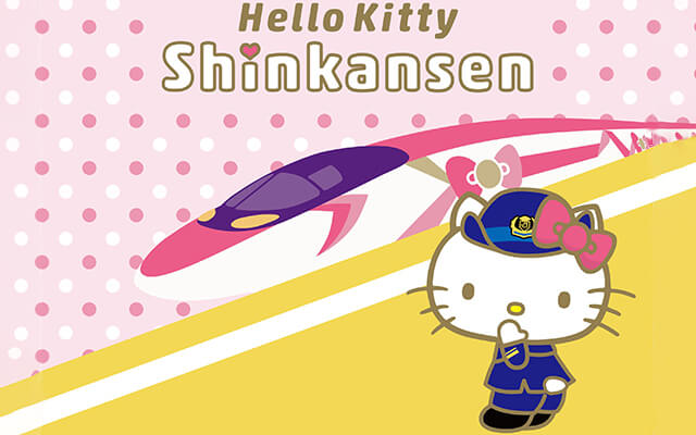Hello Kitty gets her own special Shinkansen