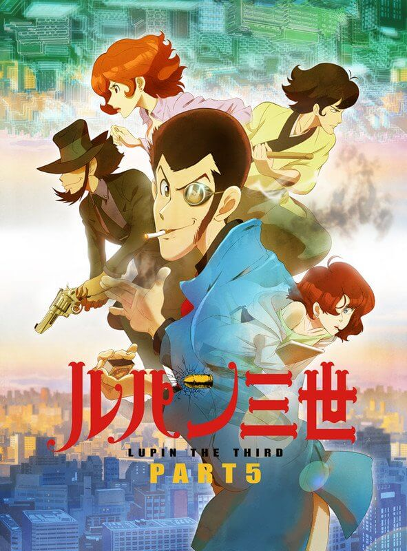 Check out Lupin the Third Part 5's OP video