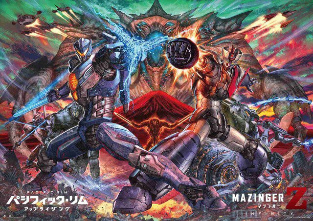 Mazinger Z teams ip with Pacific Rim for special collaboration visual