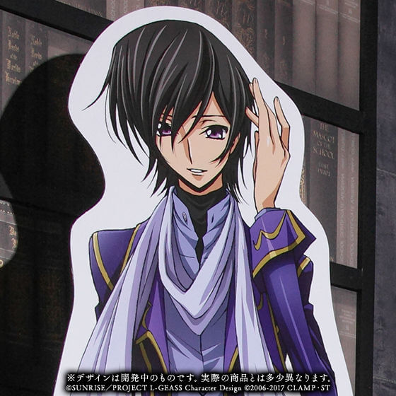 Life-size Lelouch standee to be released by Premium Bandai