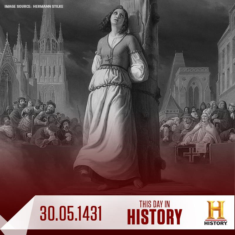 Fate Fans Overrun History Channel's This Day in History Post on J'eanne D'Arc