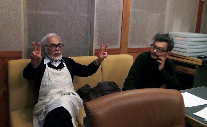 Hideaki Anno just talked smack about Hayao Miyazaki in an audio commentary