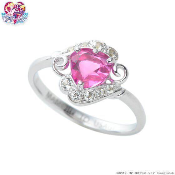 Get Engaged Like a Moon Princess with this Sailormoon-themed Engagement Ring!