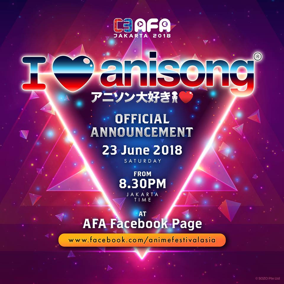 Indonesia, Brace for Impact as C3 AFA Jakarta 2018 Announces Line-Up Tonight!