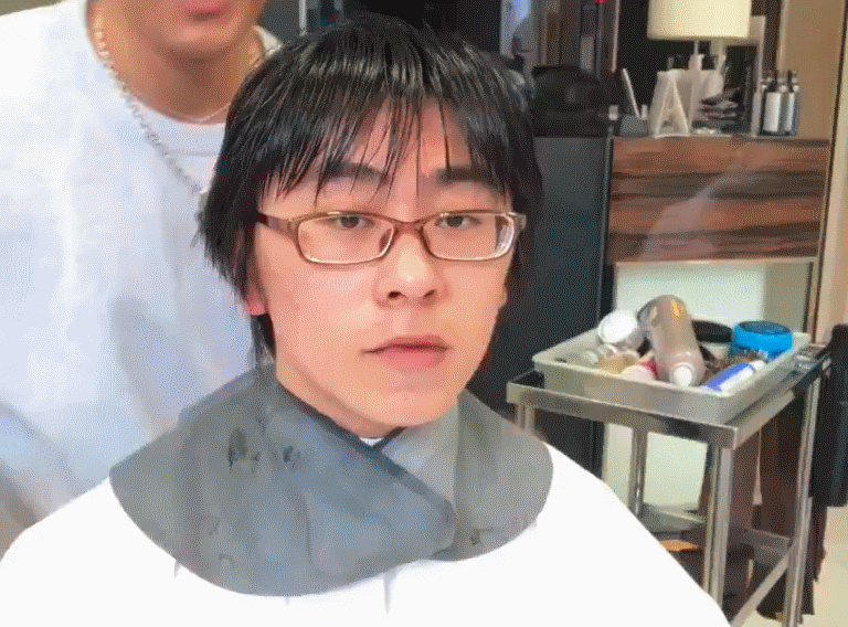 This Shibuya Stylist Just Helped a Geeky Guy Win at the Transformation Meme