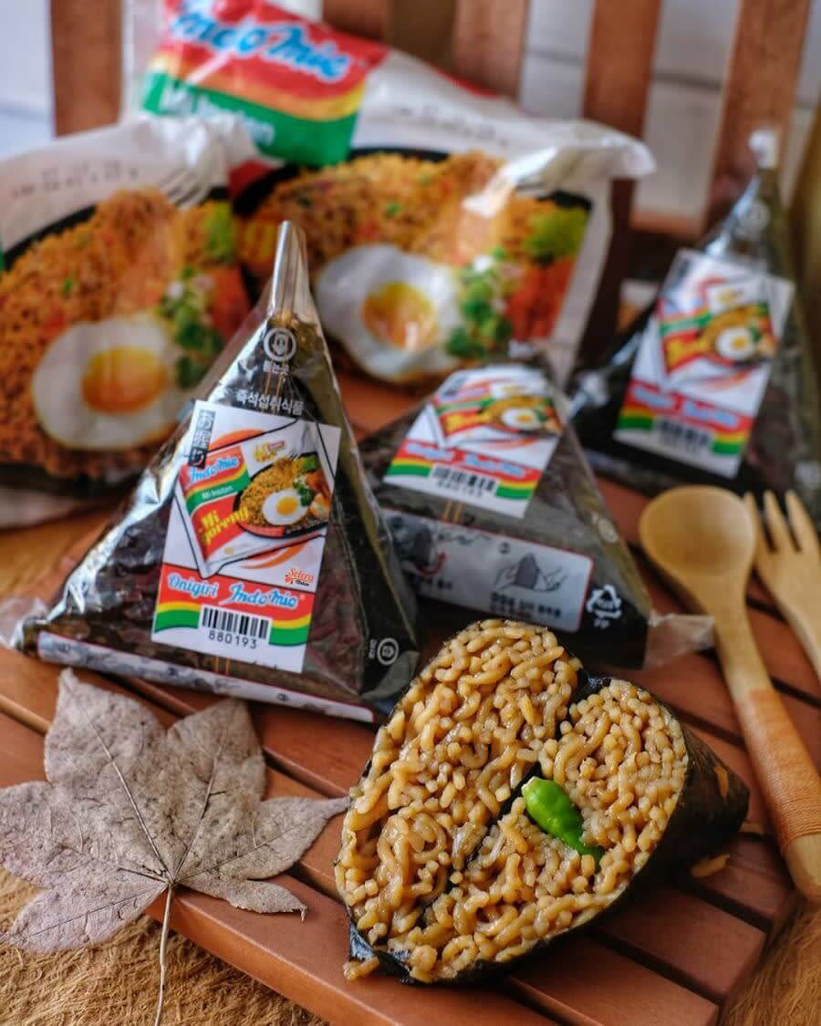 So, Indomie is getting its own onigiri, and it's making us want one