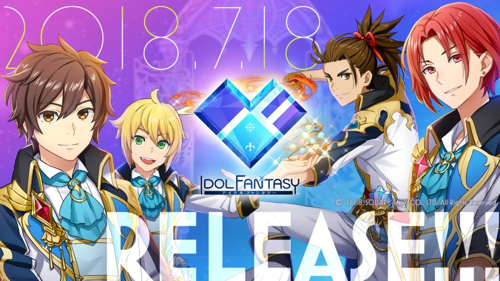 "Square Enix Releases New Mobile Game ""IDOL FANTASY"""