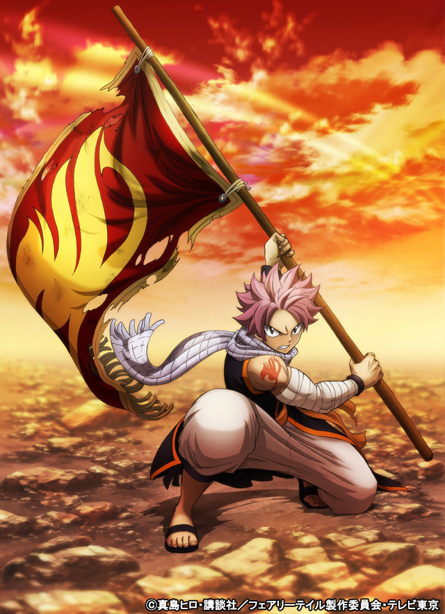 Fairy Tail TV anime's final season reveals new key visual