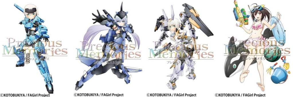 """Frame Arms Girl"" x ""Precious Memories"" Illustrations Revealed!"