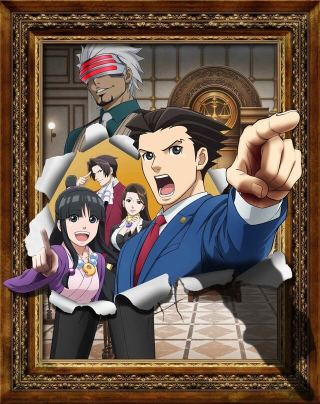 Ace Attorney Season 2 TV anime reveals new visual and premiere date