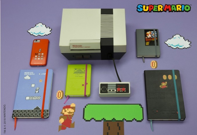 Moleskine Mario Notebooks Tug at Gamers' Heart (and Purse)-strings