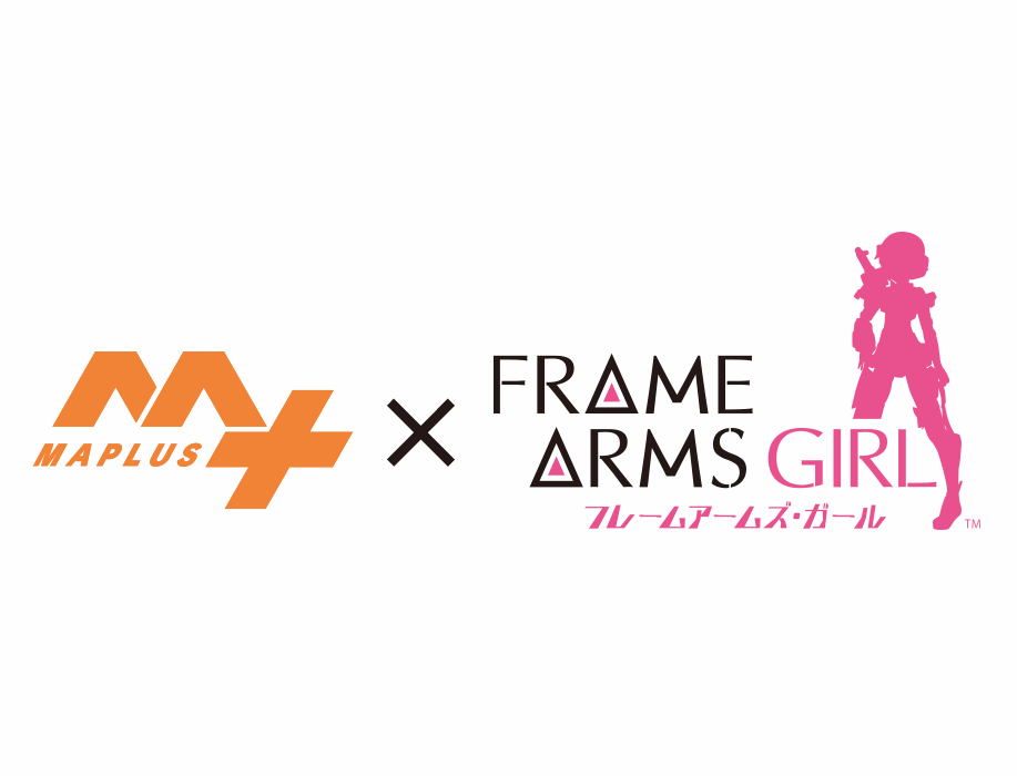 """""""Frame Arms Girl"""" Collaborates with Voice Navigation App """"MAPLUS+"""""""