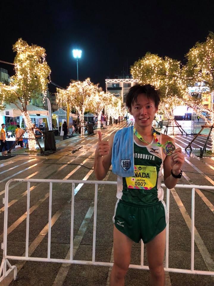Shoui Inaba @ Bangkok Midnight Marathon 2018