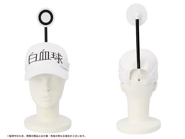 "Fight germs as official WBC cap from ""Cells At Work!"" revealed!"