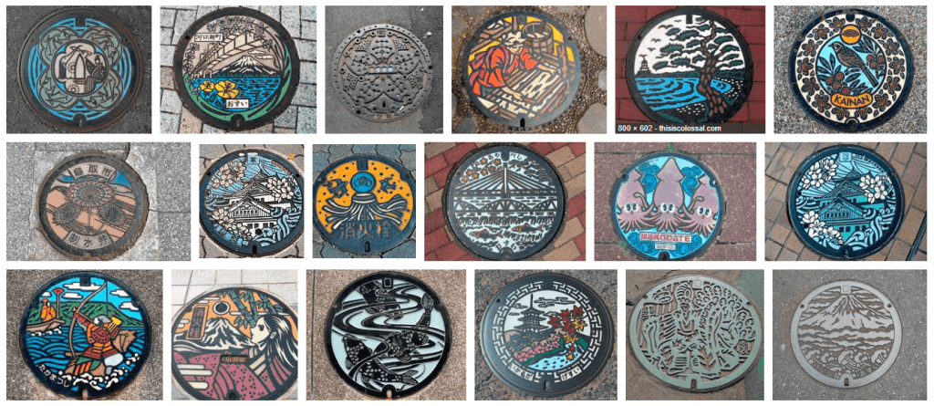 Learn the Secret Behind Japan's Amazing Manhole Covers!