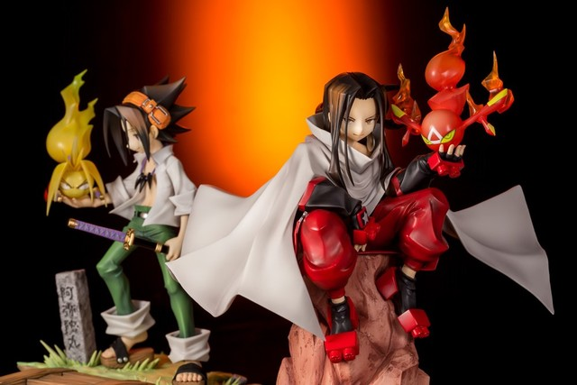 "Kotobukiya Announces ART-FX J ""Shaman King"" 20th Anniv Figures!"