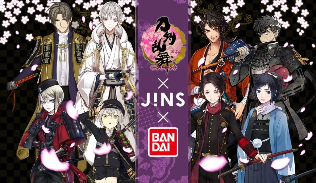 """More Characters-inspired Eyewear Collab from """"Touken Ranbu"""" x JINS!"""