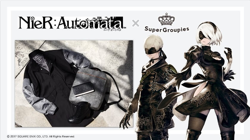 NieR:Automata x Super Groupies has a Brand New Apparel and Accessories Collab!