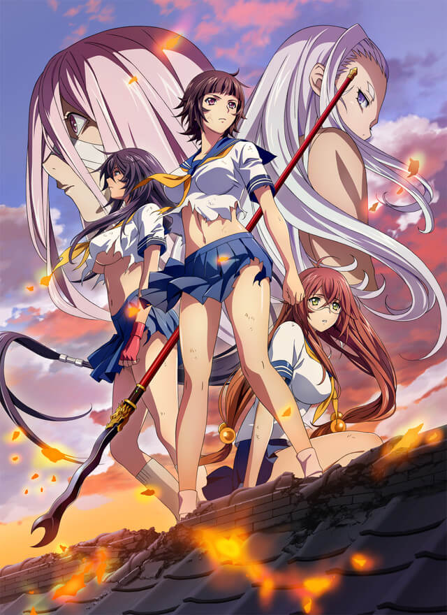 "New ""Ikki Tousen"" Anime Announced; First New Work in Over Three Years!"