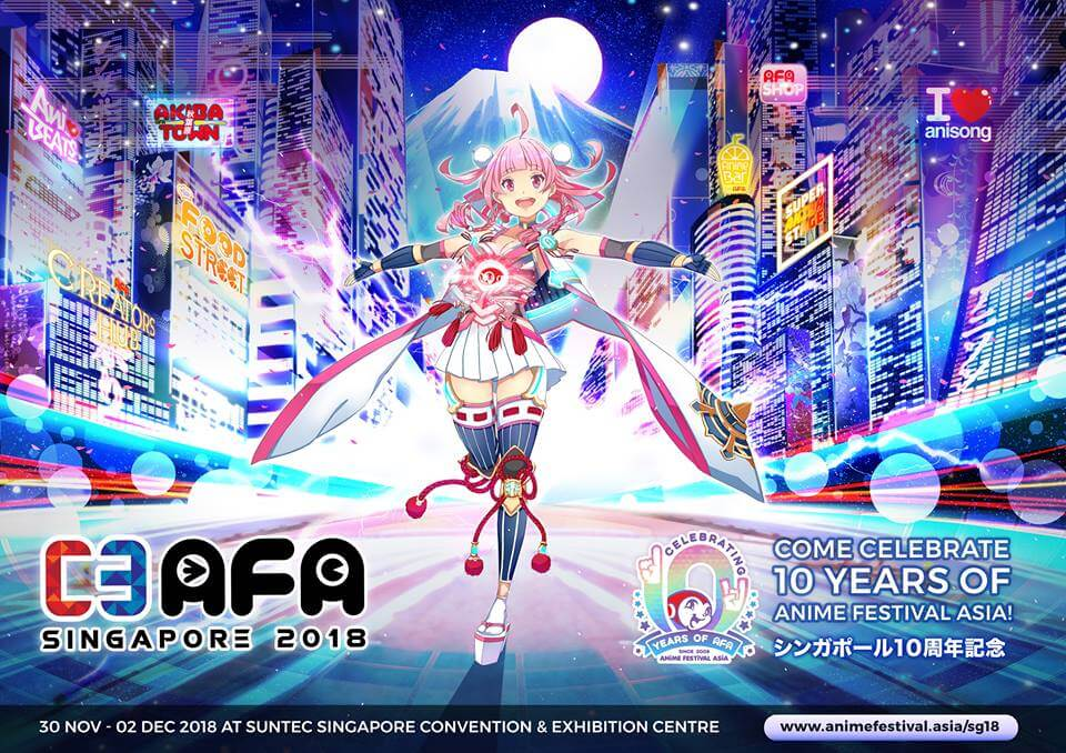 C3AFA Singapore 2018 Announces Amazing Line-up of Upcoming Contents!