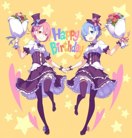 Re:Zero to throw an actual birthday party event for Ram and Rem… again