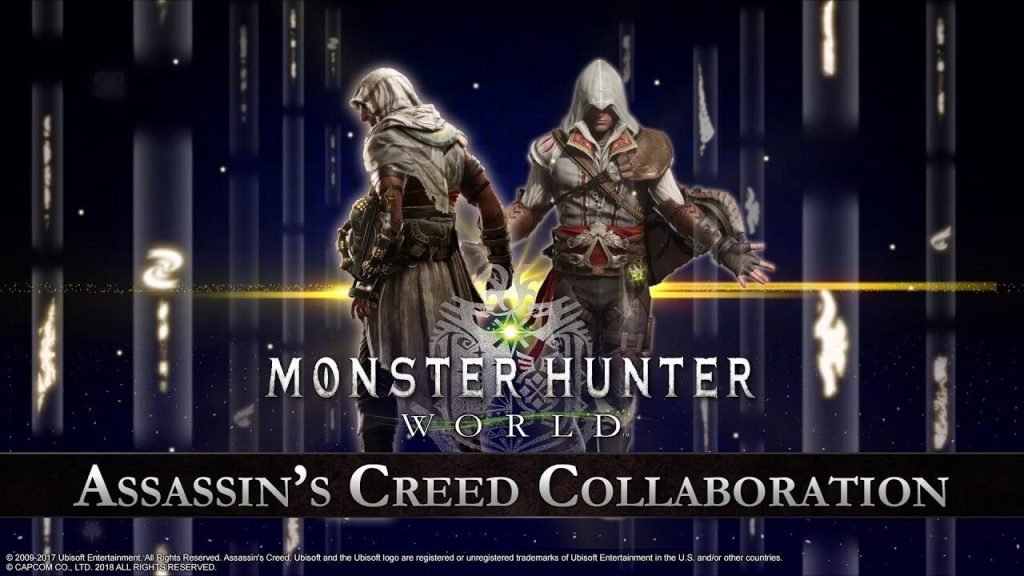 Monster Hunter: World teams up with Assassin's Creed for a special in-game collaboration